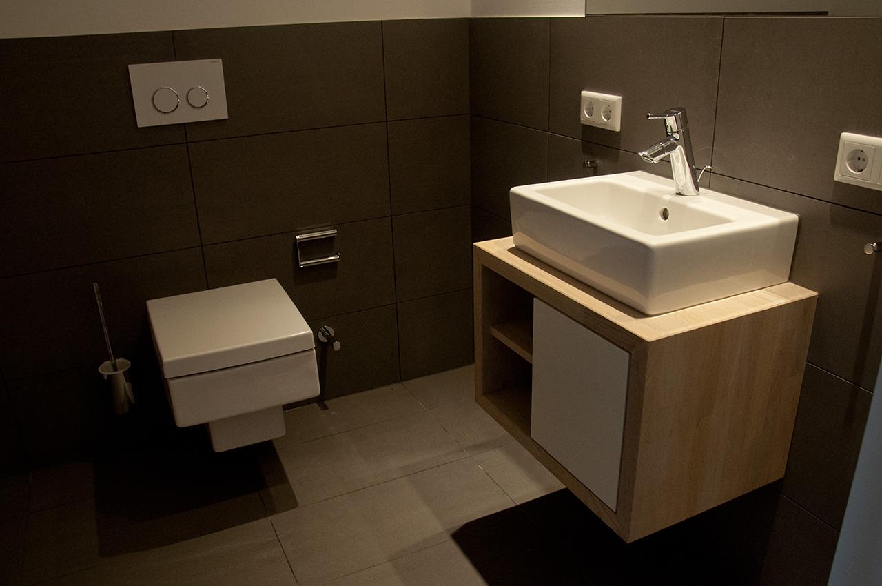 Geräumiges extra - WC
